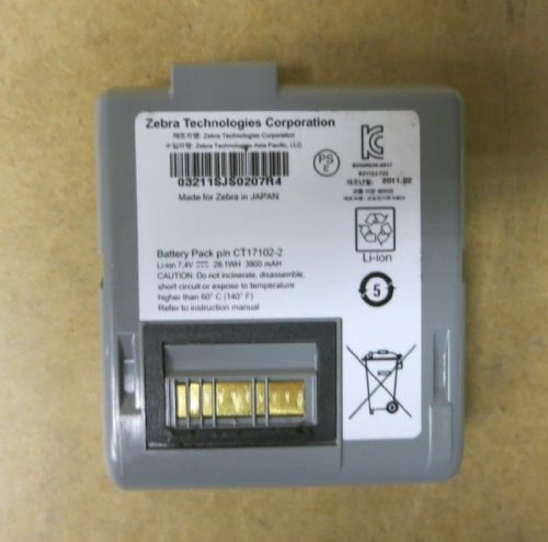 Zebra Lithium-ion Replacement Battery 7.4v CT17102-2 For Zebra RW420 L405 RW420